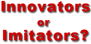 social media innovators or imitators