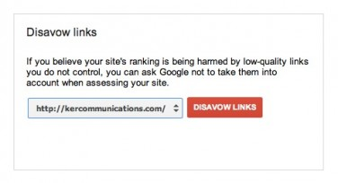 Google Disavow Links Tool Now Available