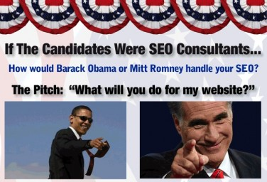 What If Presidential Candidates Were SEO Consultants?