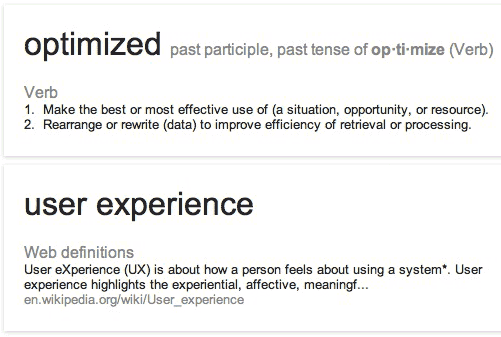 "SEO Should Begin with ""O""...  and UX"