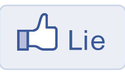 Facebook Lie Button