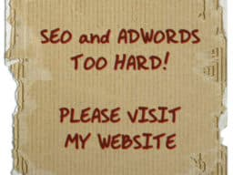SEO and Adwords - too hard