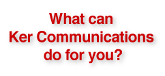 Contact Ker Communications in Pittsburgh